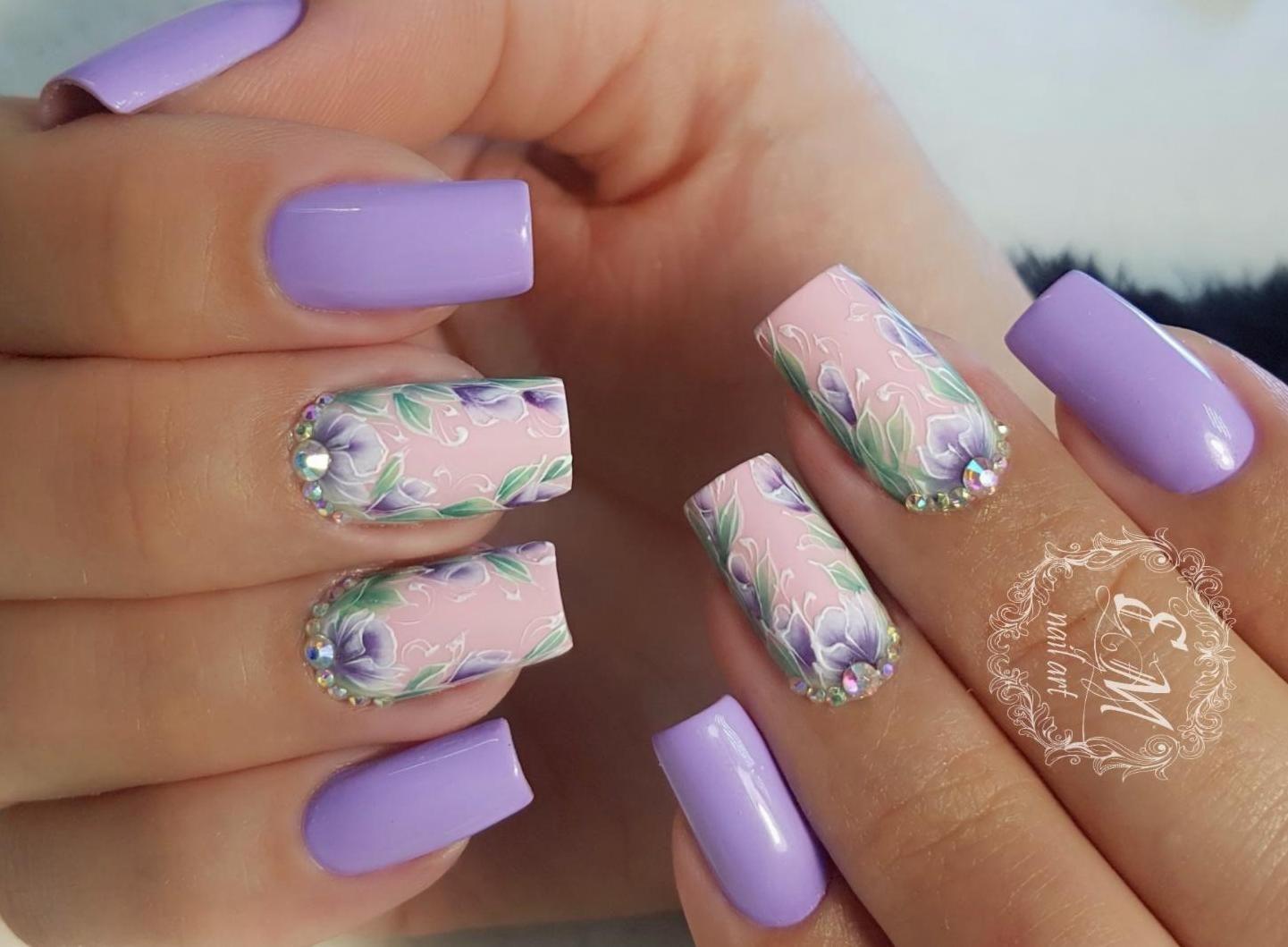 Идеи дизайна ногтей 24 года. Нежный и красивый французский ...