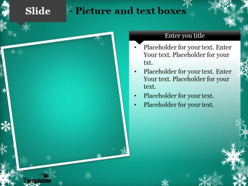 winter powerpoint template   decem news tamplet   pinterest   template, Powerpoint templates
