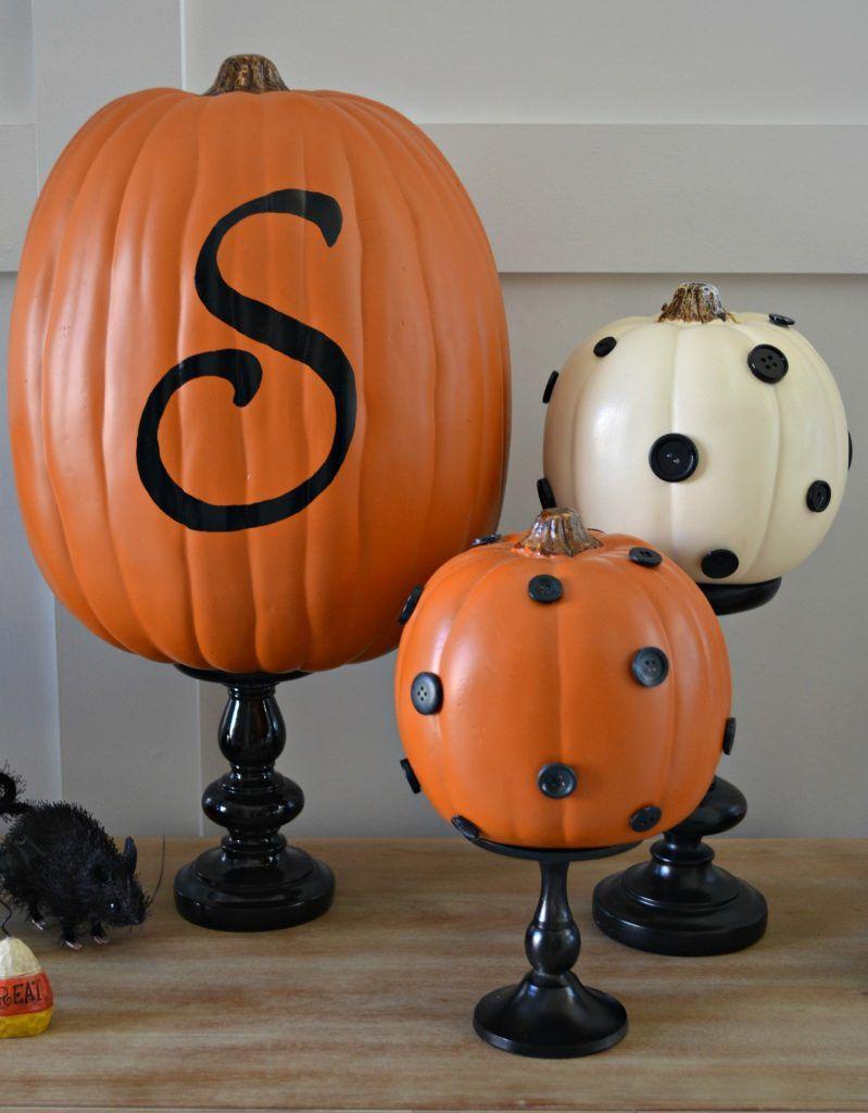 Diy Pumpkin Stands For Your Halloween Display From Nestorations