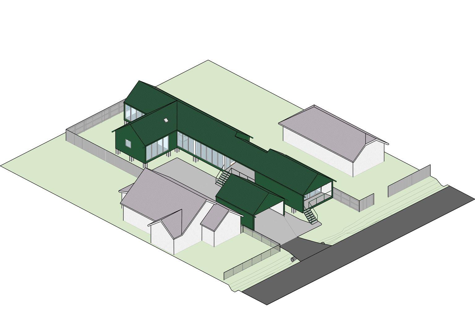 Gallery of Model Infill House / Ben Koush Associates 31