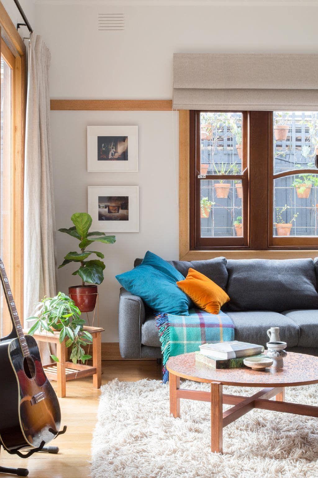 Pleasant A Melbourne Bungalows Eco Friendly Transformation Living Home Interior And Landscaping Eliaenasavecom