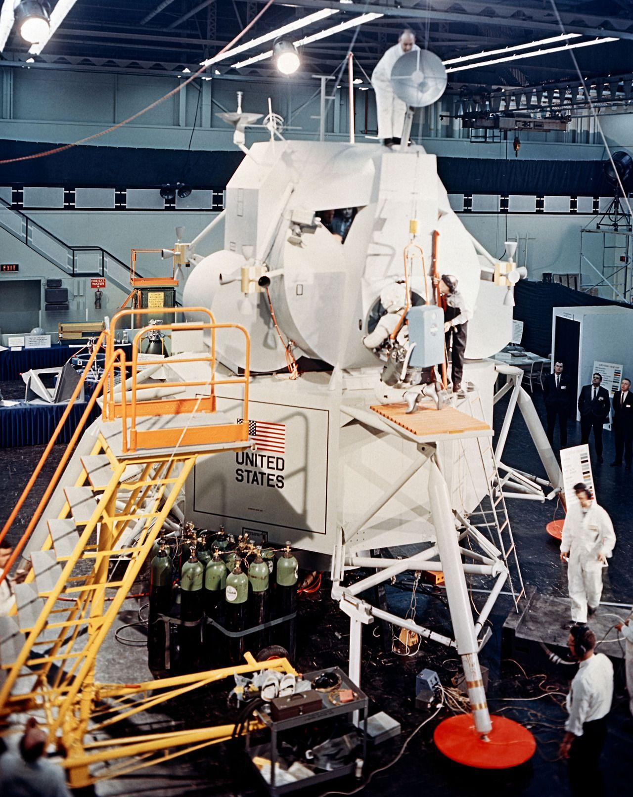 Moon -Art Command /& Service Module The Apollo Missions by Mark Karvon NASA