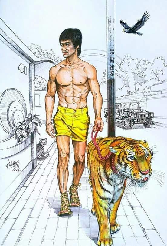 Karate Tiger Bruce Lee
