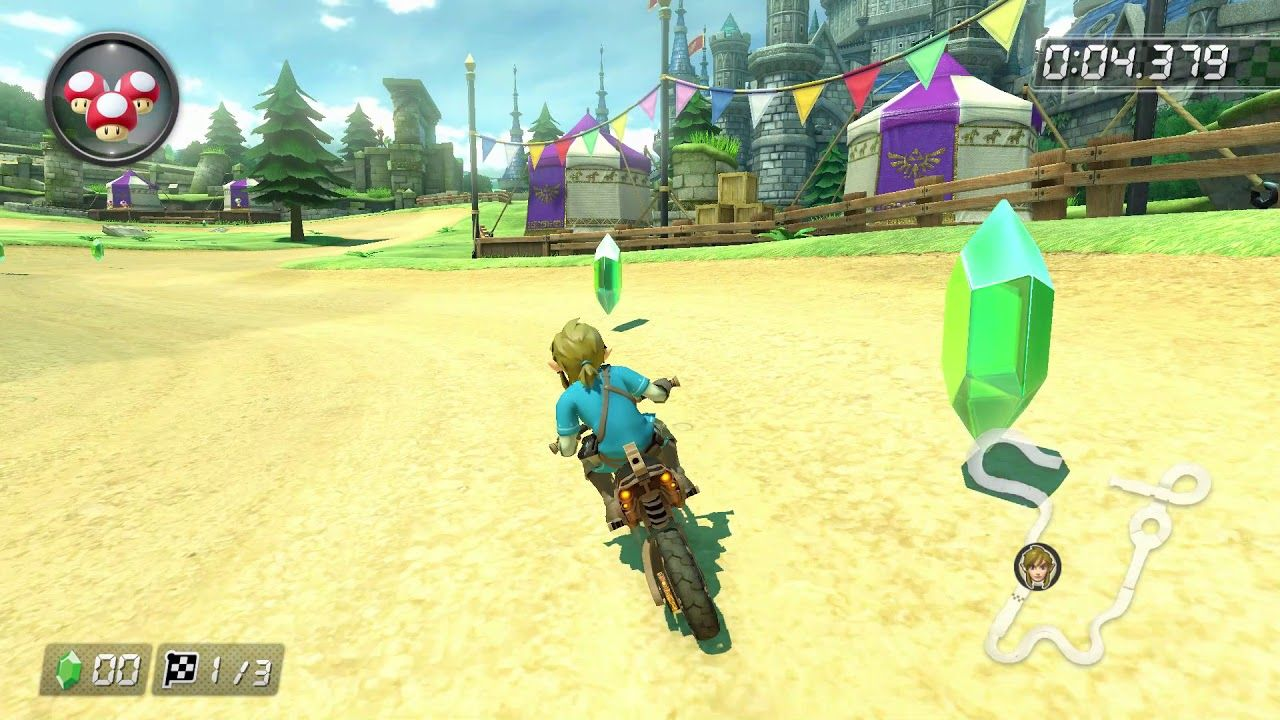 Mario Kart 8 Deluxe First Look At Master Cycle Zero Breath Of