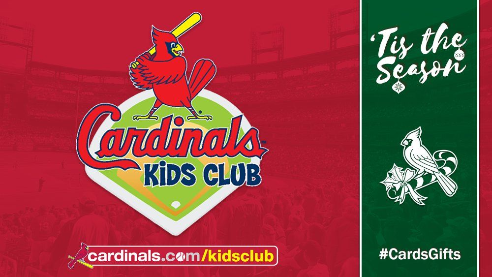 A Cardinals Kids Club membership makes a perfect gift for