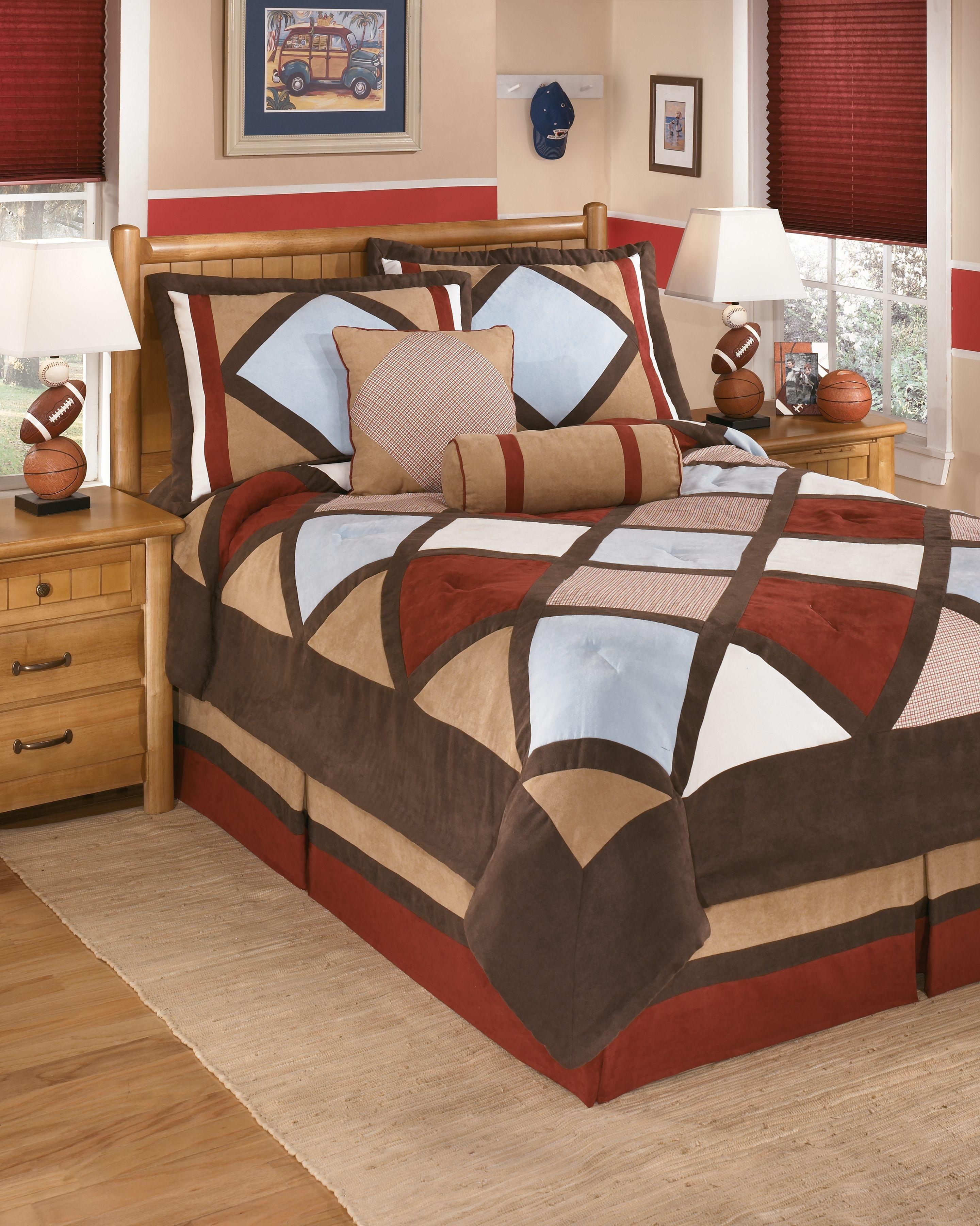 Academy 6 Piece Full Comforter Set Multi Comforter Sets Full Bedding Sets Full Comforter Sets