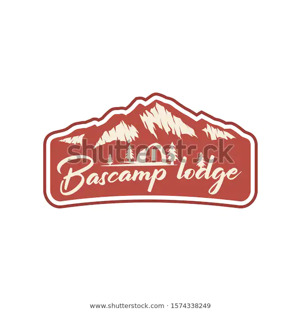 Outdoor Rocky Mountain Nature Logo Adventure Wildlife Pine Tree Forest Design Hiking Exploration Nature Camping Outdoor Logos Forest Design Rocky Mountains