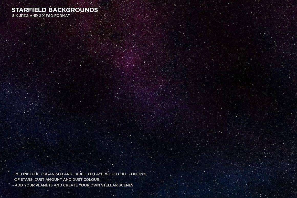 Celestial Space Backgrounds Pack Space Backgrounds Scene Generator Website Template Design