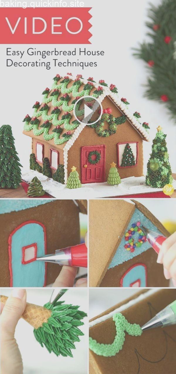 Easy Gingerbread House Decorating Techniques Decorating
