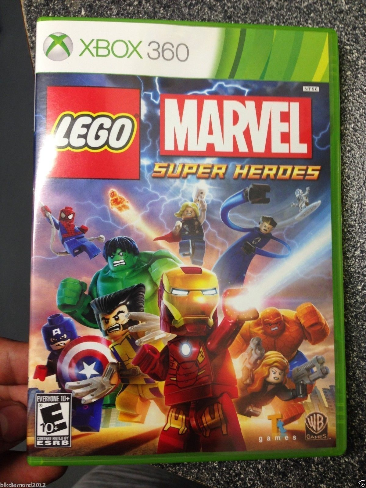 LEGO Marvel Super Heroes xbox 360 video game new release