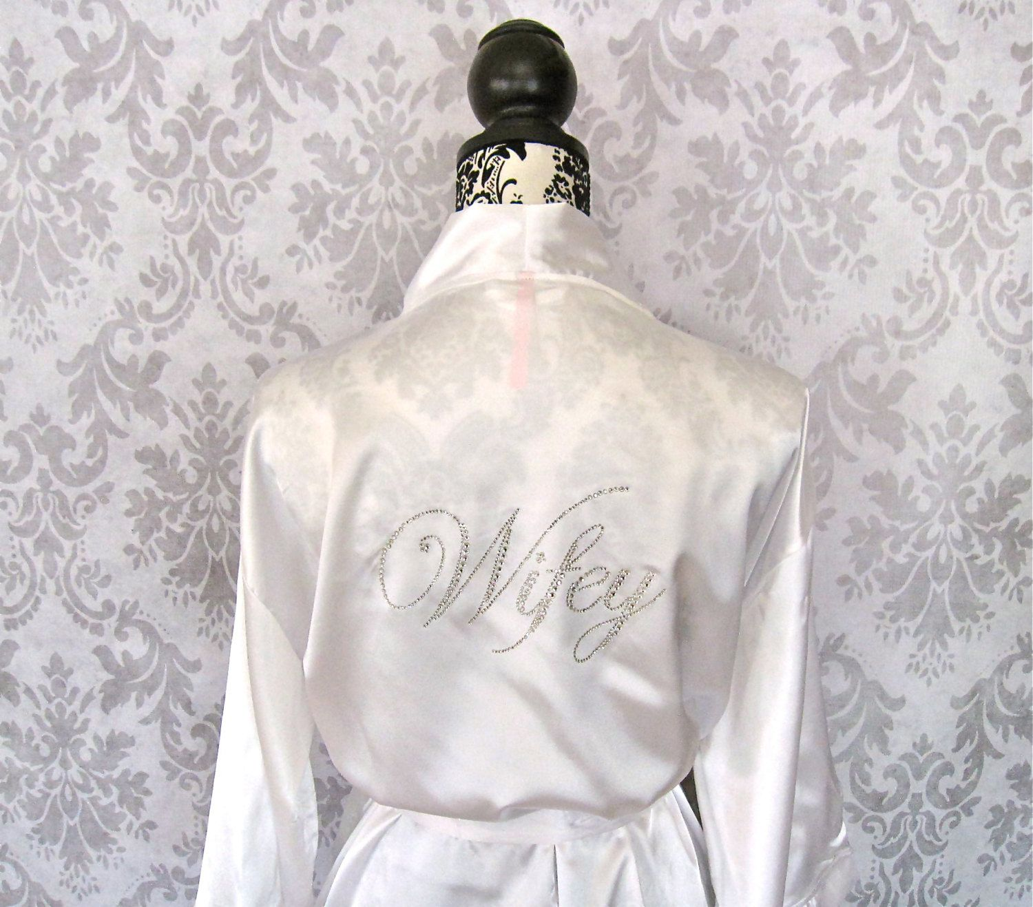 Wedding Bride Robe briderobe honeymoonrobe bridesmaidbythelittlebridalshop bridesmaidbythelittlebridalshop