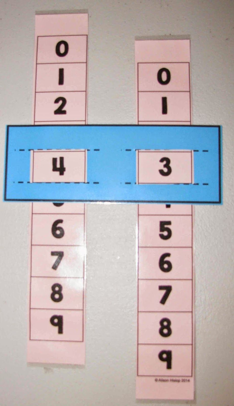 Teaching Maths with Meaning Place Value Sliders! | Maths | Pinterest ...