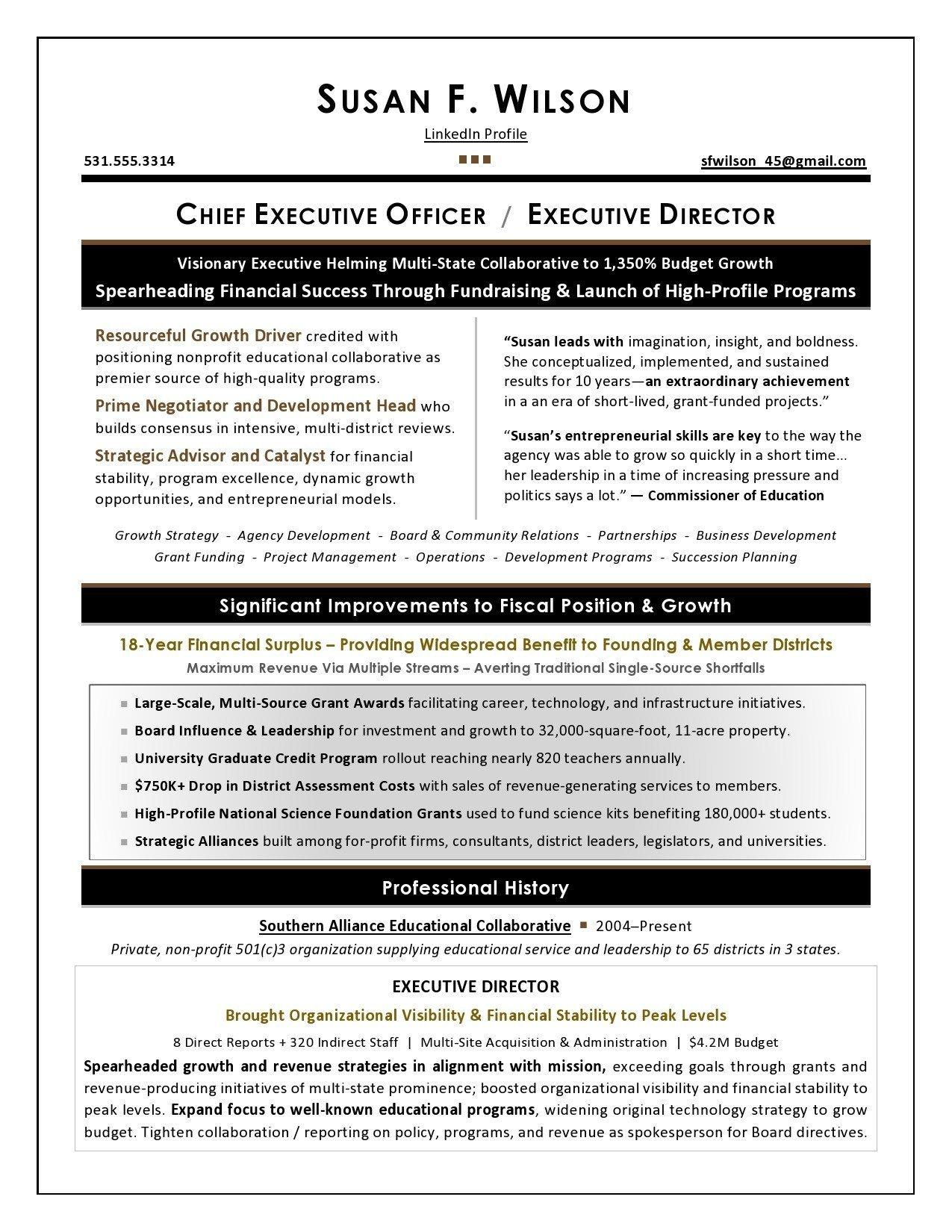 Executive Resume Samples Executive Resume Samples Executive Resume Sample And Complete Gu 20 Examples Zety A Stepbystep Gu To Writing An Executive Resume 20