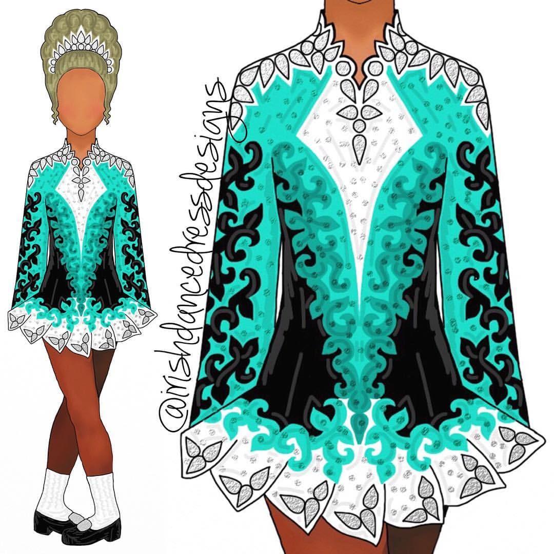734 Likes 15 Comments Irish Dance Dress Designs Irishdancedressdesigns On Instagra Irish Dance Dress Designs Irish Dancing Dresses Irish Dance Solo Dress