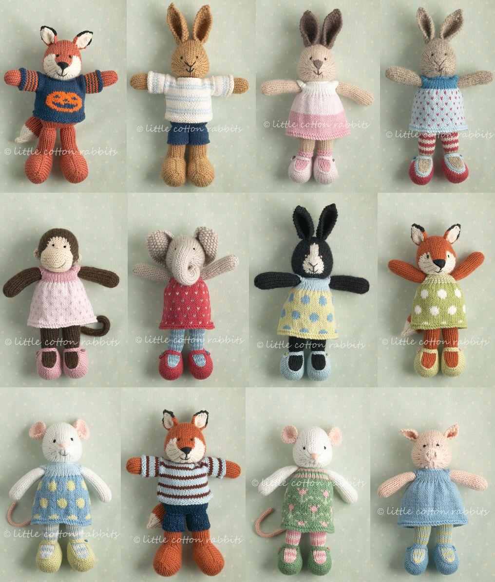 Little Cotton Rabbits   Little cotton rabbits, Knitting patterns ...