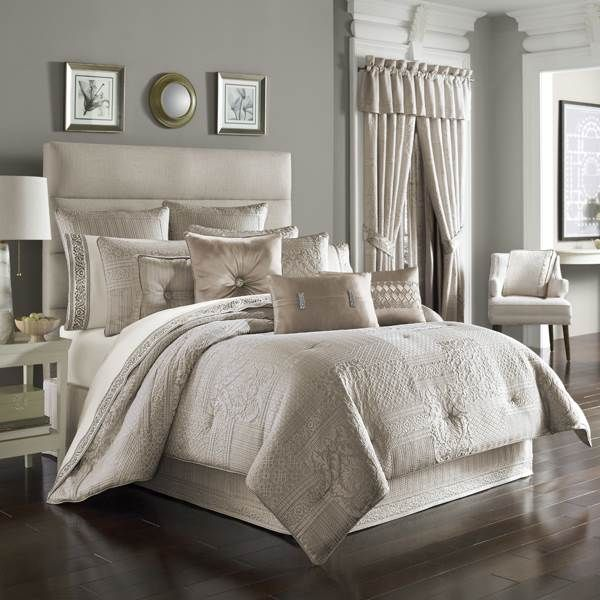 Superbe J Queen New York Wilmington Alabaster Bedding   The Home Decorating Company  Has The Best Sales