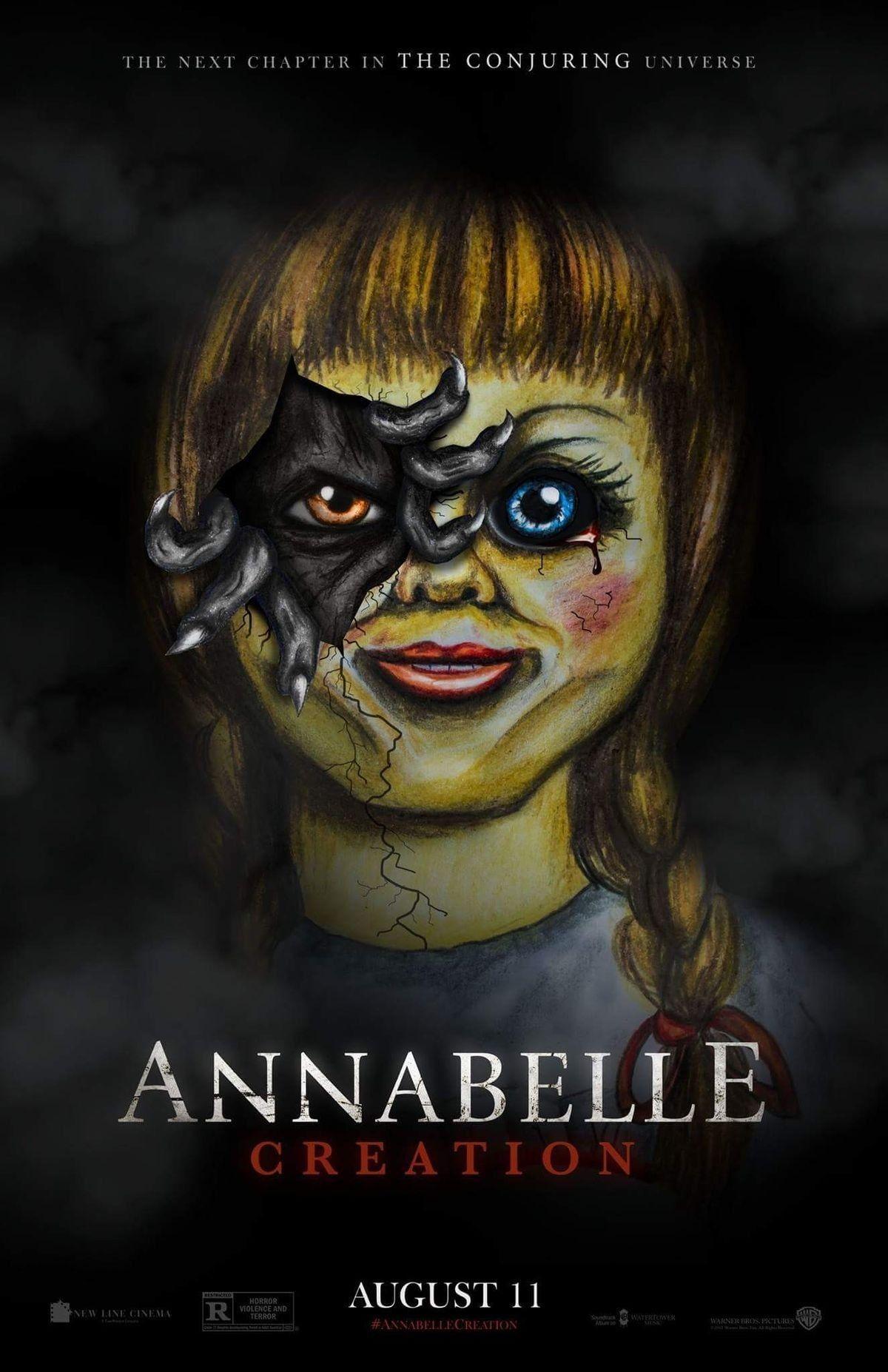 Annabelle Movie Poster Horror Movie Posters Film Horor Horor