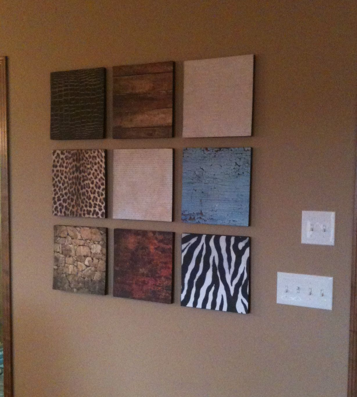 Make beautiful wall decor using foam insulation and scrapbook paper walldecor also rh pinterest