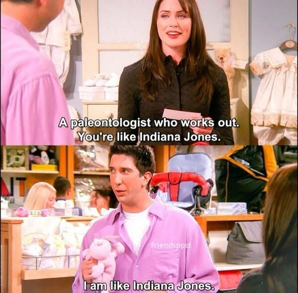 i am like indiana jones | friends | Friends tv, I love my friends, Friends  tv show