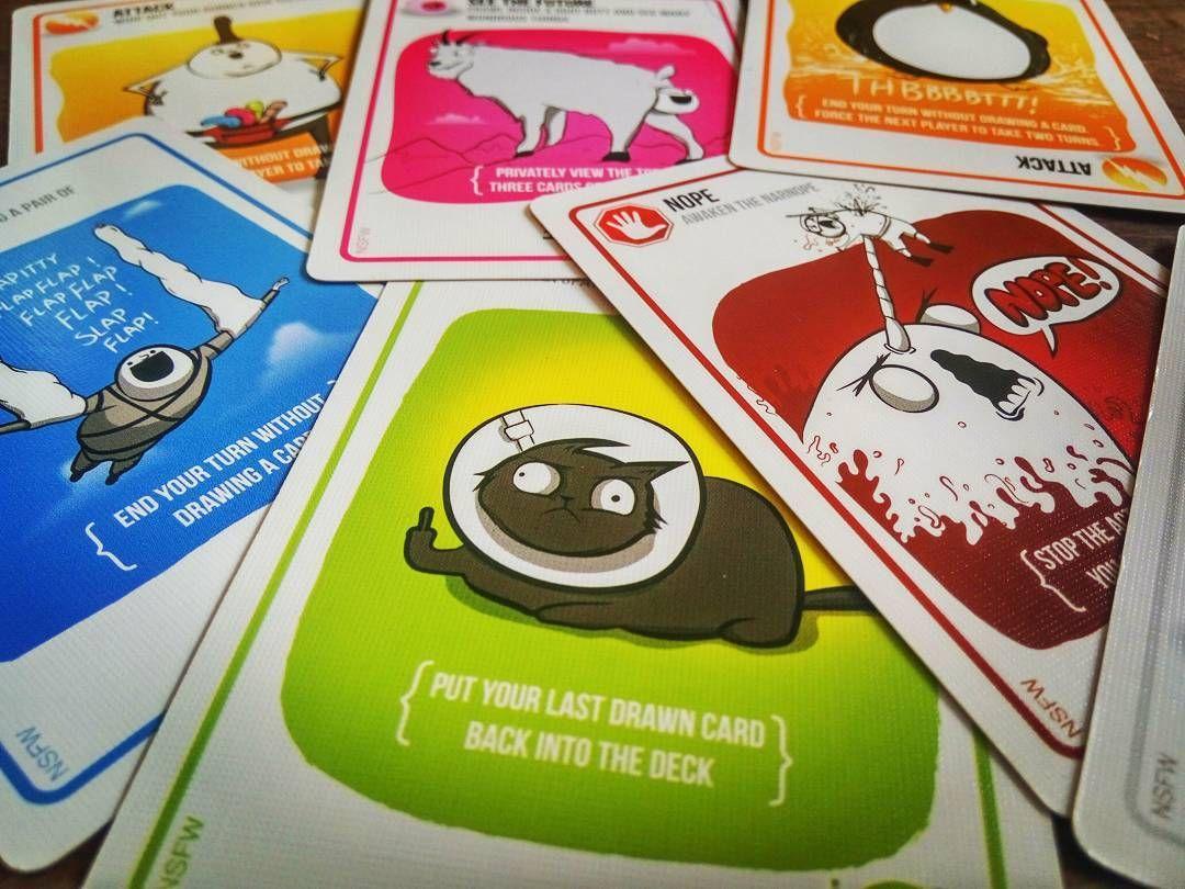 Lysander Kempe On Instagram Really Love Exploding Kittens Explodingkittens Cardgame Cardgames Tabletopgaming Gaming C Exploding Kittens Kittens Cat S