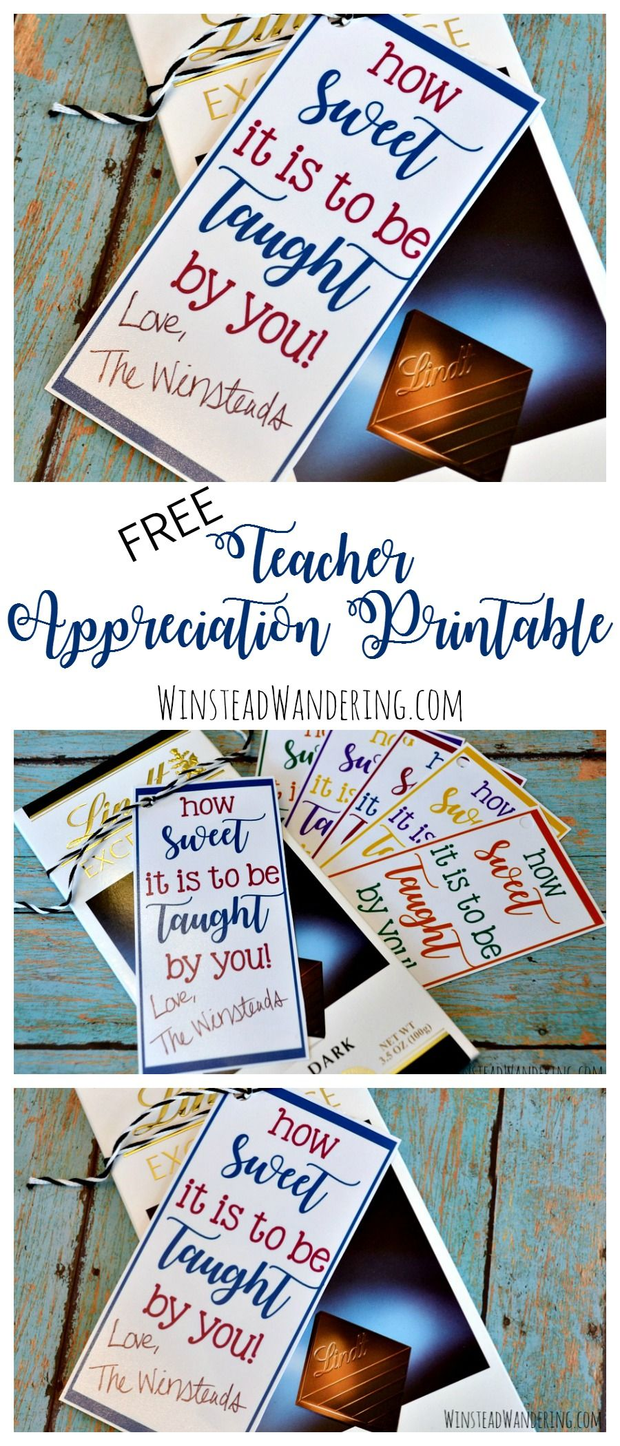 Free Teacher Appreciation Printable + Inexpensive Gift Ideas ...