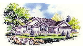 Traditional Style House Plan 70540 With 2 Bed 2 Bath 2 Car Garage House Plans Traditional House Plan Tudor Style Homes