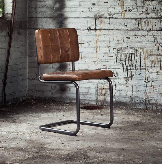 Eetkamerstoel google zoeken stoelen pinterest stoelen eetkamer en leer - Stoelen leer en hout ...