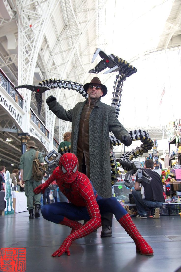 Spiderman Doctor Octopus Awesome Spiderman Costume Cosplay
