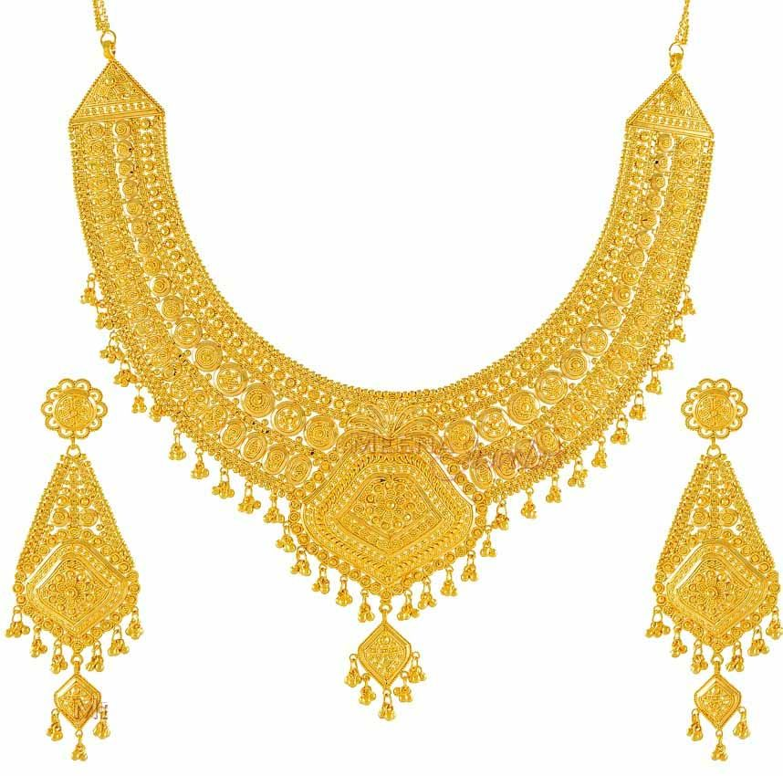 Gold Bridal Jewelry Sets | bridal jewelry | Pinterest | Gold ...