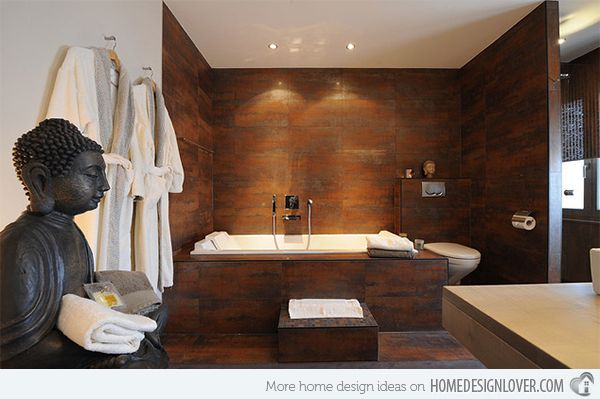 Get Nature's Feel in 15 Asian Themed Bathrooms   Asian decor, Room on asian home plans for home, asian design look, asian style home exterior, help design my bathroom, noise maker for bathroom, asian flowers small,
