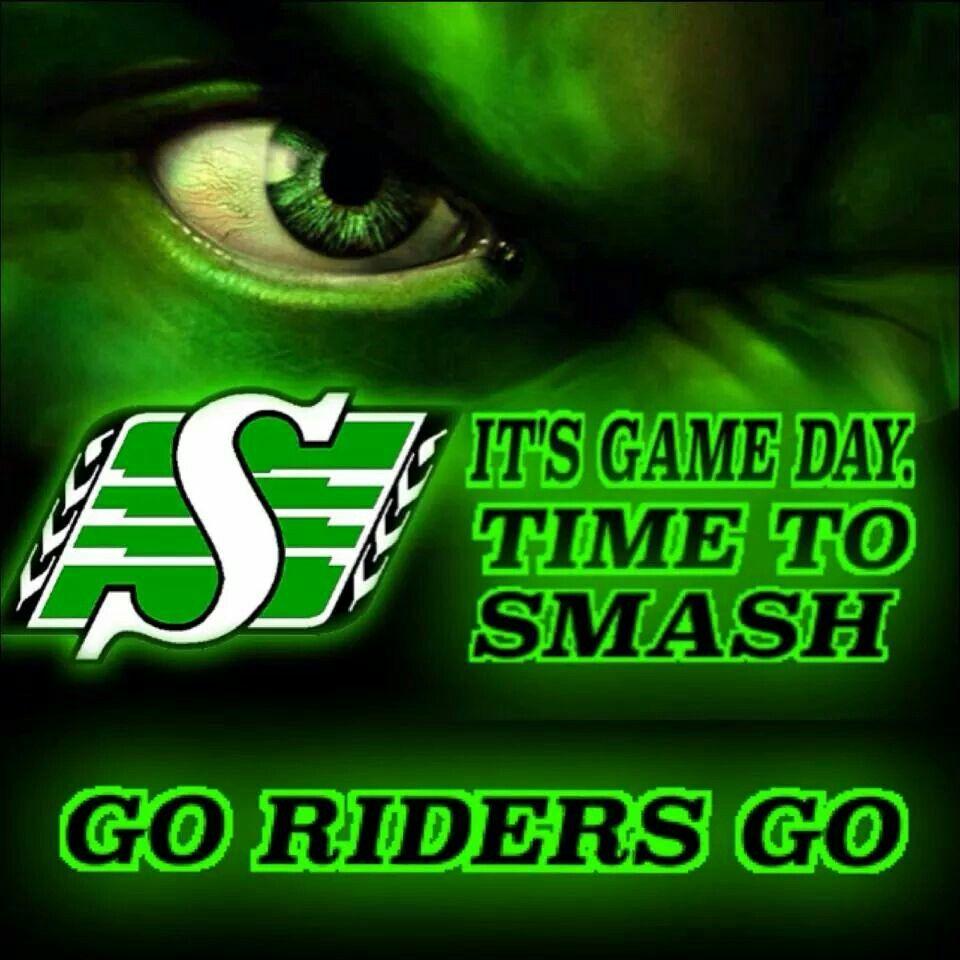 Game Day ! Go rider, Saskatchewan roughriders, Rider