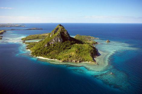 Island of the Blue Lagoon Caves, Yasawa Islands,  Fiji Islands
