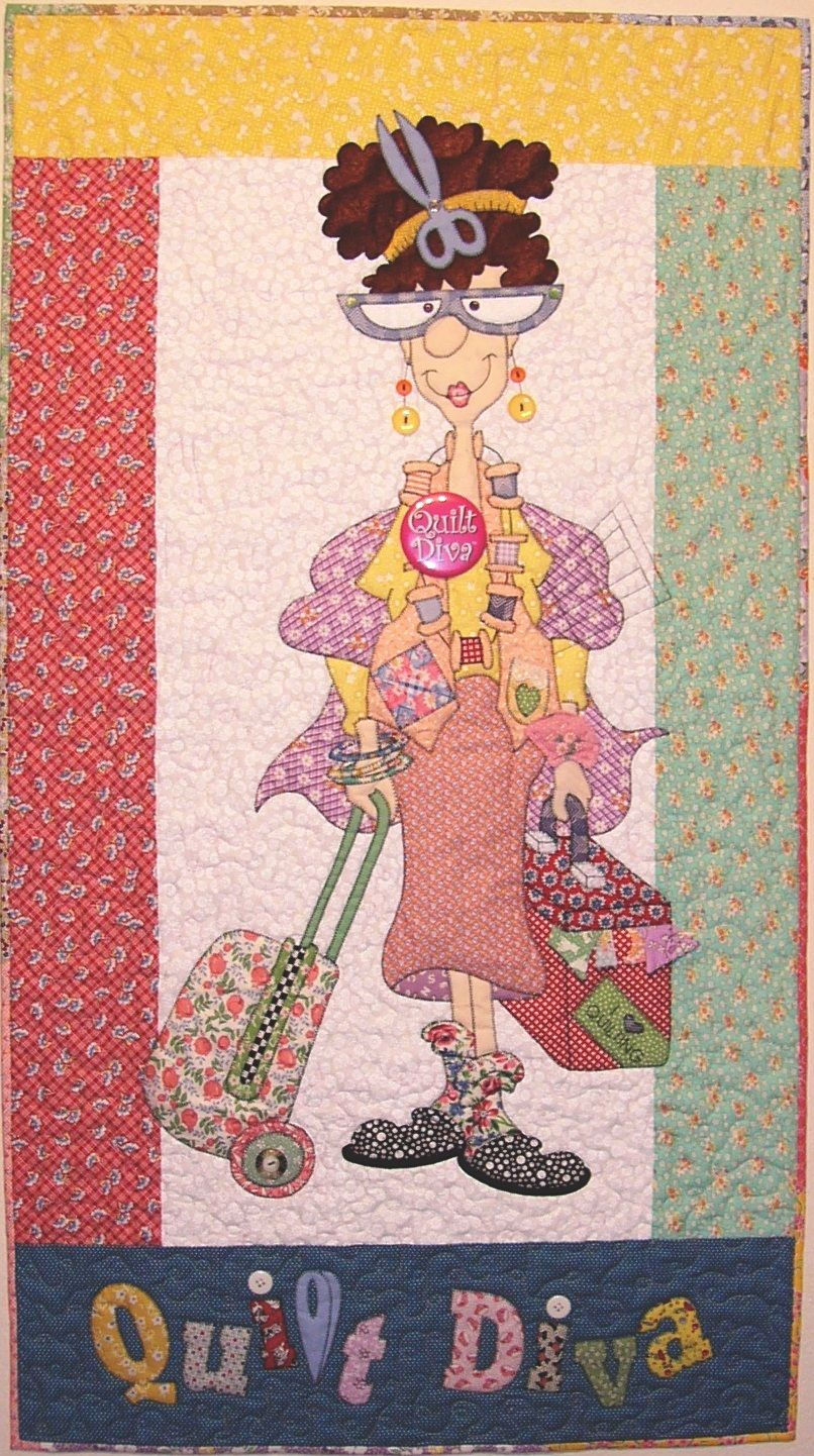 Quilt Diva Pattern Applique Quilts Quilts Machine Embroidery Patterns