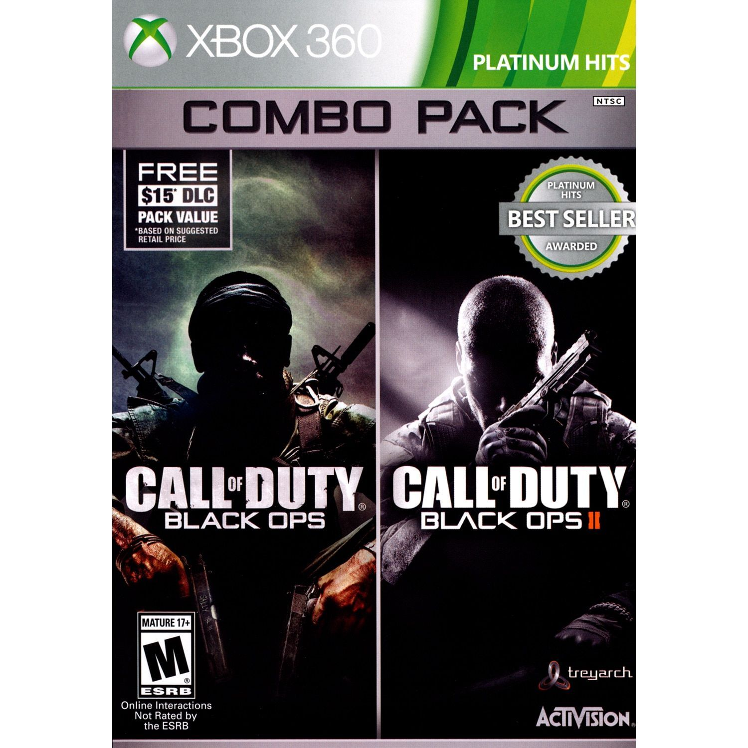Call of duty ops 1 2 bundle with first strike map pack for xbox call of duty black ops 1 2 bundle with first strike map pack for xbox 360 overstock shopping the best deals on new games gumiabroncs Choice Image