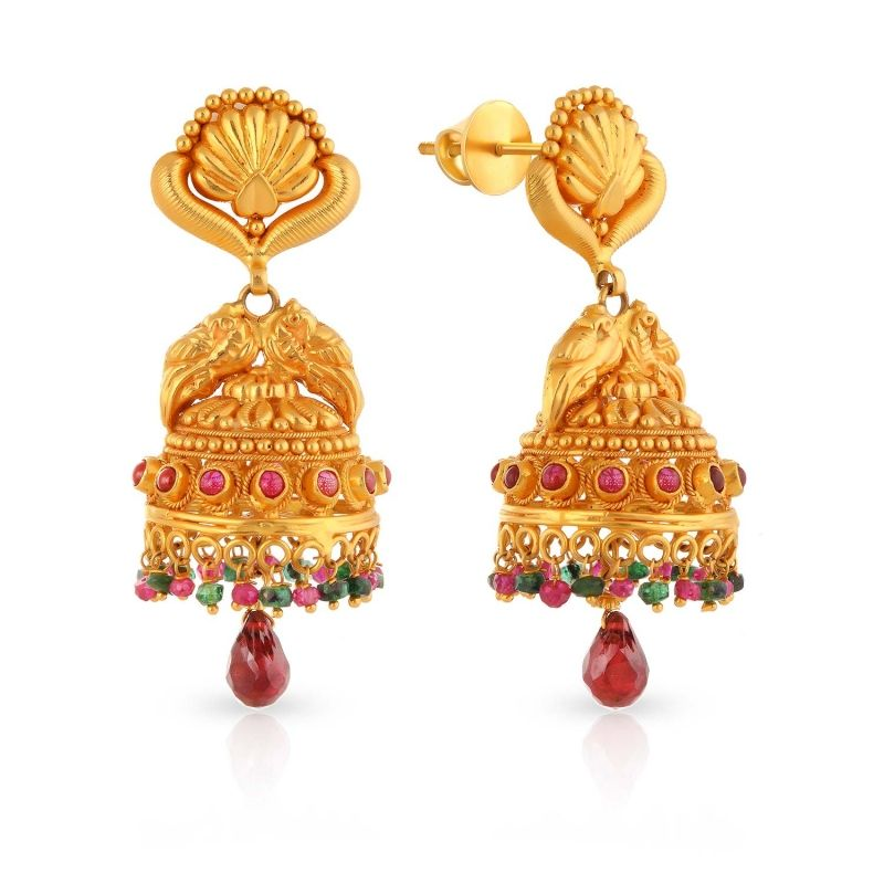 Divine Gold Earring ANDAAAAAAUSN | Indian Jewelry I Love ...
