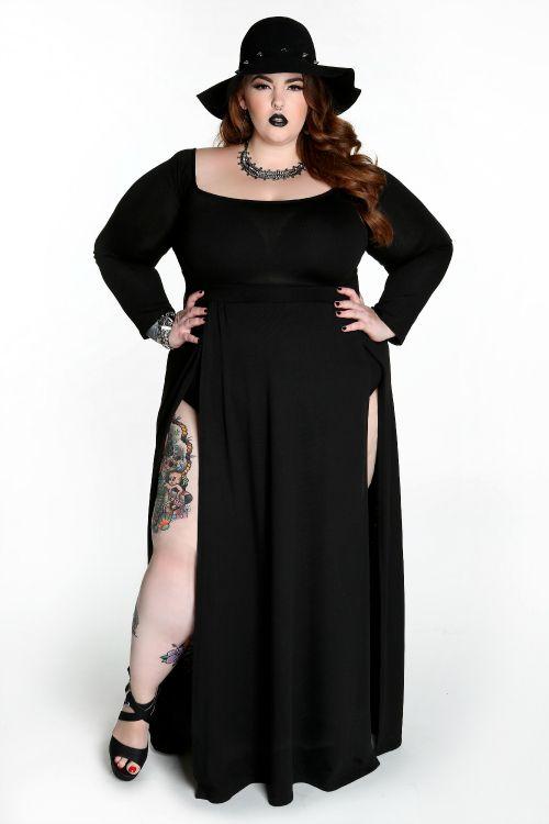 Domino Dollhouse - Plus Size Clothing: Obsidian Dress | Fashion ...