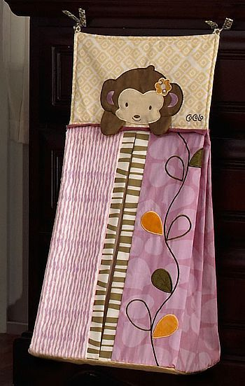 Cocalo Baby Nursery Collections Jacana Diaper Stacker