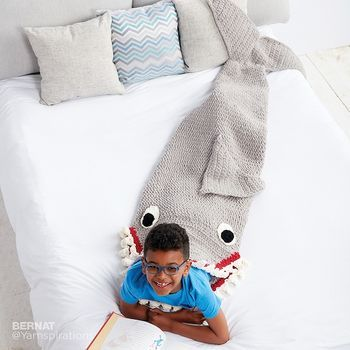 Fin-Tastic Shark Snuggle Sack