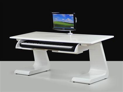 zaor idesk key modern studio workstation with keyboard drawer keyboard in 2019 recording. Black Bedroom Furniture Sets. Home Design Ideas