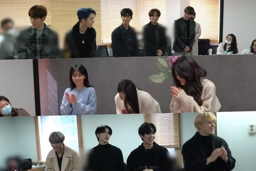"""Watch: Upcoming KBS Drama """"Imitation"""" Shares Behind-The-Scenes Look At Script Reading"""