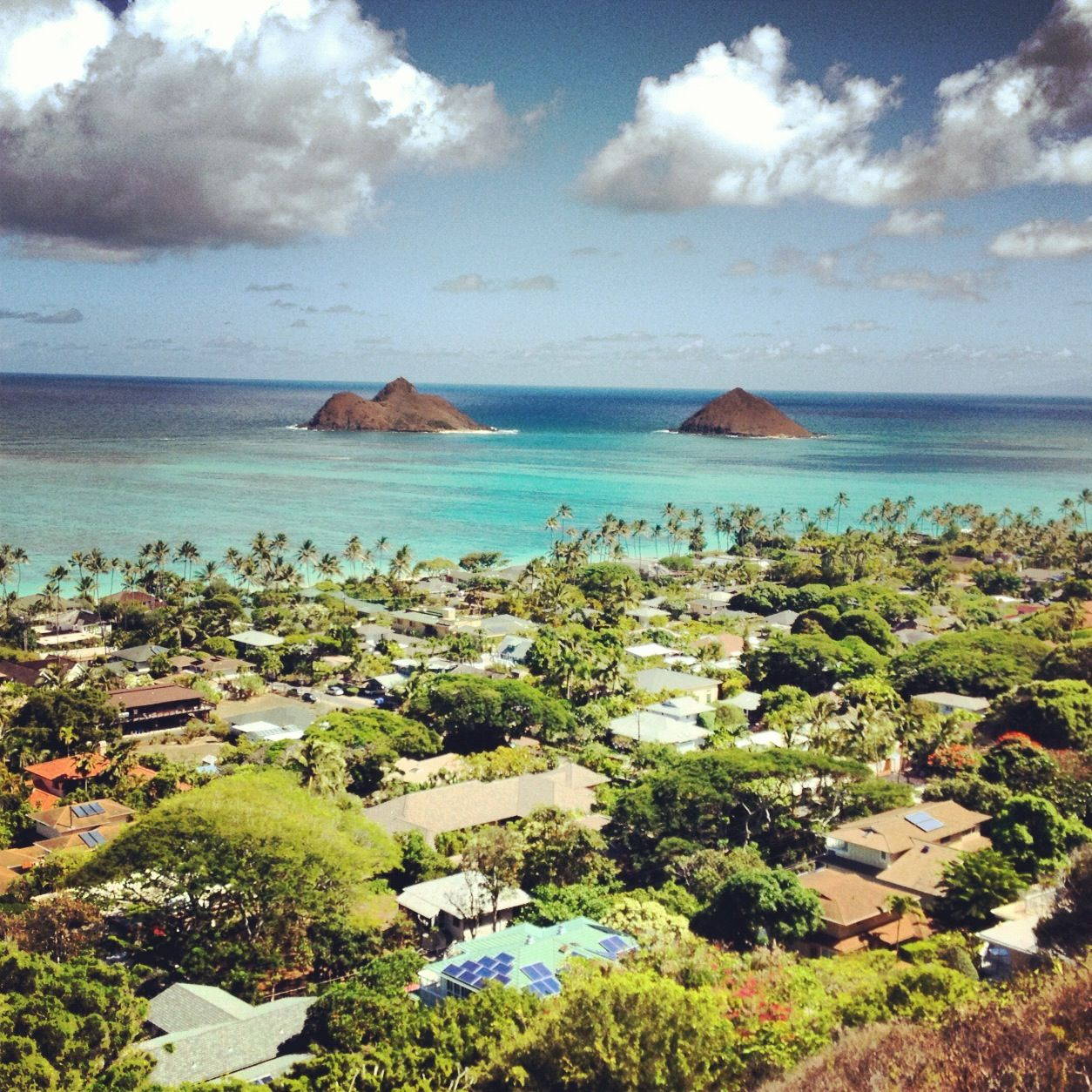 Peaceful Places In Hawaii: Mokulua Islands, Kailua Oahu