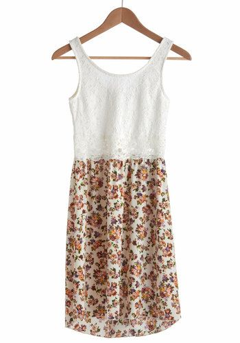 Bohemian Bouquet Dress, #ModCloth