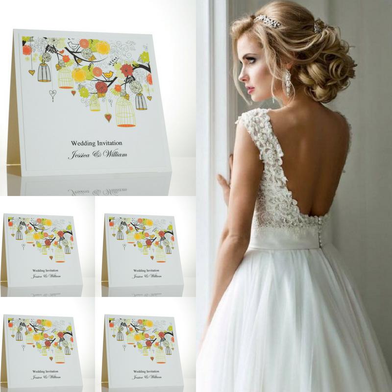 Birdcage Wedding Invitations For A Summer Wedding