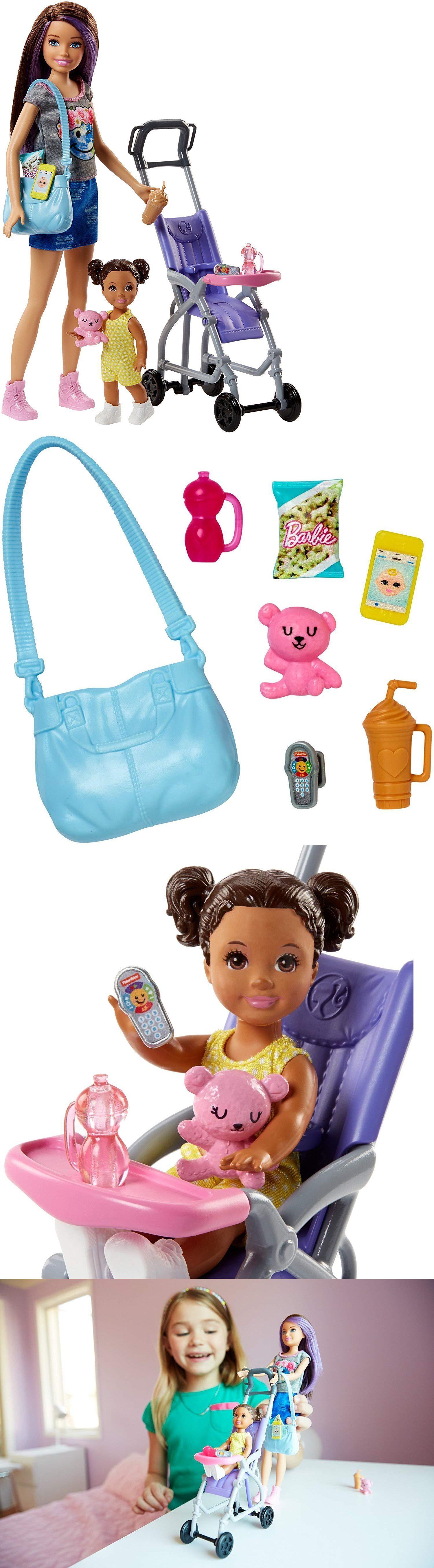 Dollhouses 20898 Barbie Skipper Babysitters Inc. Doll And
