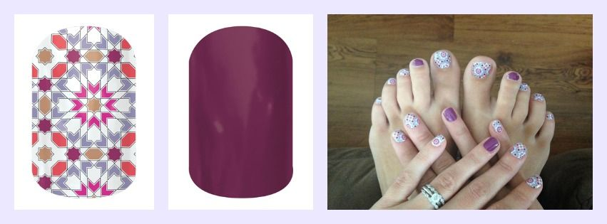 Jamberry Quilted with Boysenberry Tint!!!
