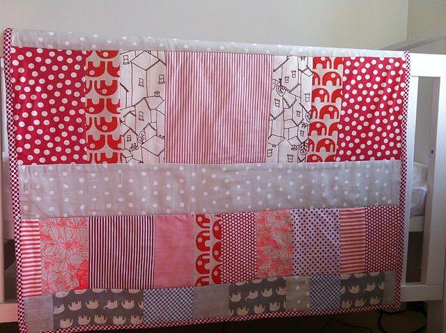 Umbrella Prints... Jane's baby quilt