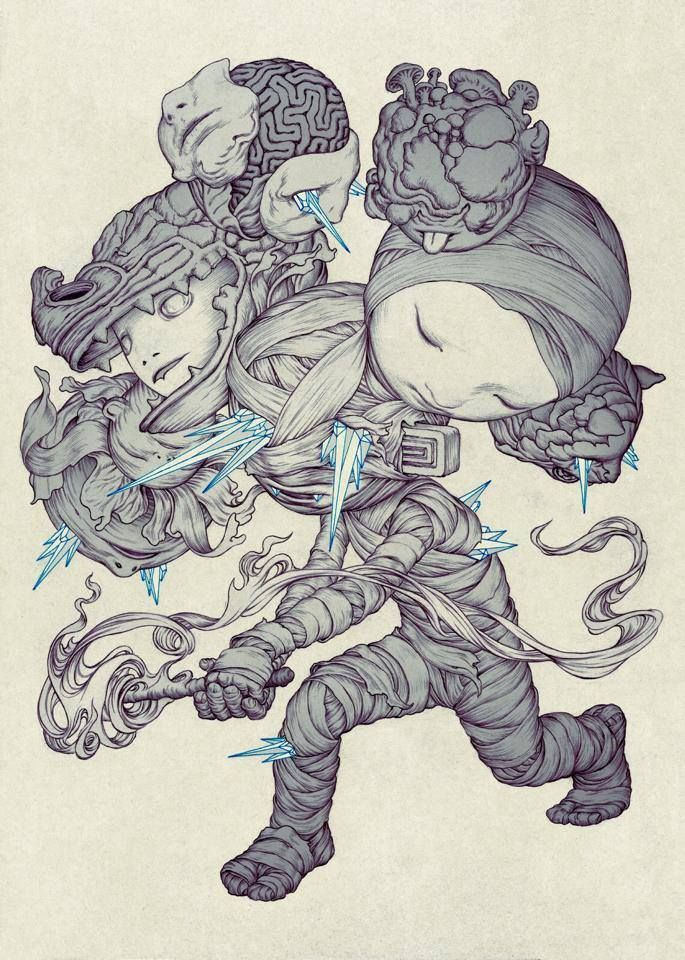 New Illustrations By James Jean James Jean Was Born In