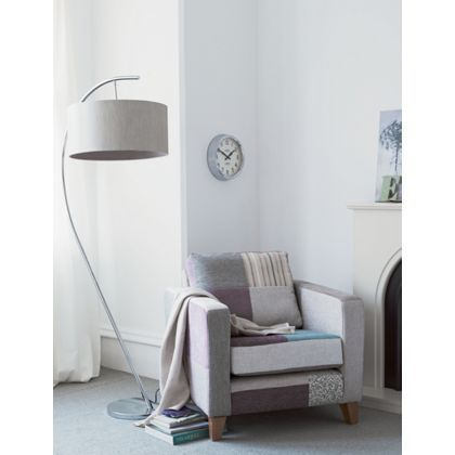 Arc - Floor Lamp - Champagne at Homebase -- Be inspired and make your house