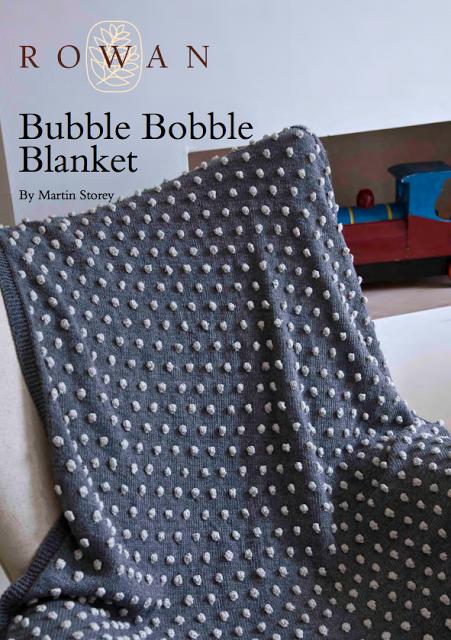 Free 1950\'s Knitting Pattern - Bobble Blanket | Knit | Pinterest ...