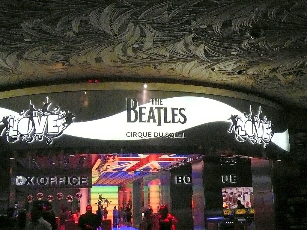 The Beatles, Love banner